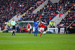 - Mandatory by-line: Ryan Crockett/JMP - 30/03/2018 - FOOTBALL - Aesseal New York Stadium - Rotherham, England - Rotherham United v Peterborough United - Sky Bet League One