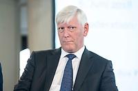 06 JUN 2018, BERLIN/GERMANY:<br /> Dr. Rolf Martin Schmitz, Vorstandsvorsitzender RWE AG, 27. BBH-Energiekonferenz &quot;Die Energiewende&quot;, Franzoesische Friedrichstadtkirche<br /> IMAGE: 20180606-01-137