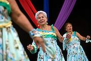 Venezuelan dancers perform at The Fabricio Ojeda Nucleus of Endogenous Development. The nucleus includes health clinics, subsidised food stores and development programmes. Caracas, Oct. 18, 2008 (Photo/Ivan Gonzalez)