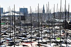 DK:<br /> 20180807, Århus, Danmark.<br /> Verdensmesterskabet i Sejlsport 2018 i Århus. <br /> Aarhus Internationale Sejlsportscenter. Tilskuere<br /> Foto: Lars Møller<br /> UK: <br /> 20180807, Aarhus, Denmark.<br /> Sailing World Championships 2018, Aarhus, Denmark. <br /> Aarhus International Sailing Center, Spectators<br /> Photo: Lars Moeller