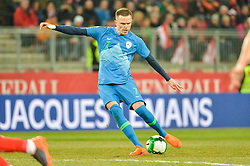 Ilicic Josip of Slovenia during friendly football match between National teams of Austria and Slovenia on March 25, 2018 in Woerthersee Stadion, Klagenfurt, Austria. Photo by Mario Horvat / Sportida