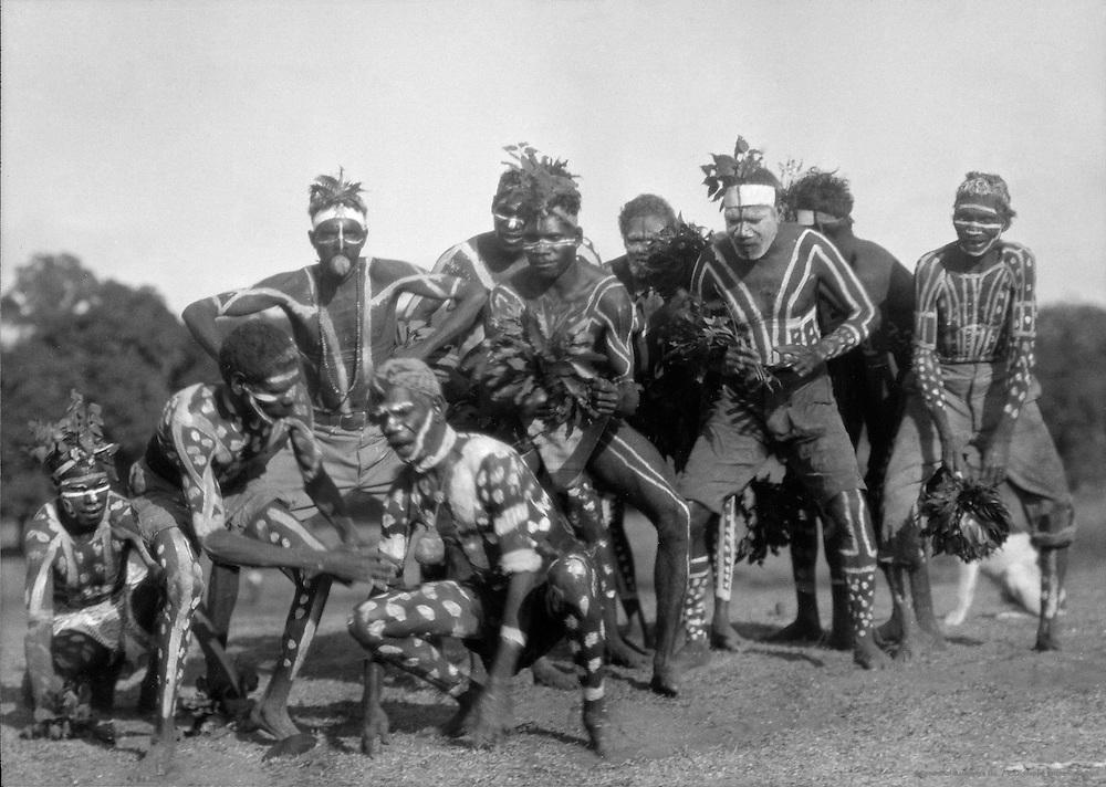 Kangaroo Dance, Central Australia,1930