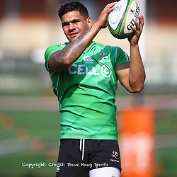 Luke Stringer of the Cell C Sharks during the Cell C sharks training at Jonsson Kings Park ,Durban.South Africa. 11,10,2018 (Photo by Steve Haag)