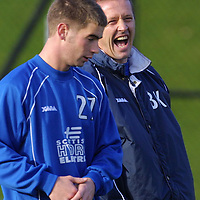 St Johnstone training....26.10.01<br />