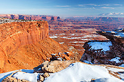 Winter scene in Canyonlands National Park, Utah