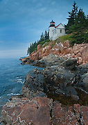 Acadia National Park is home to Bass Harbor Light