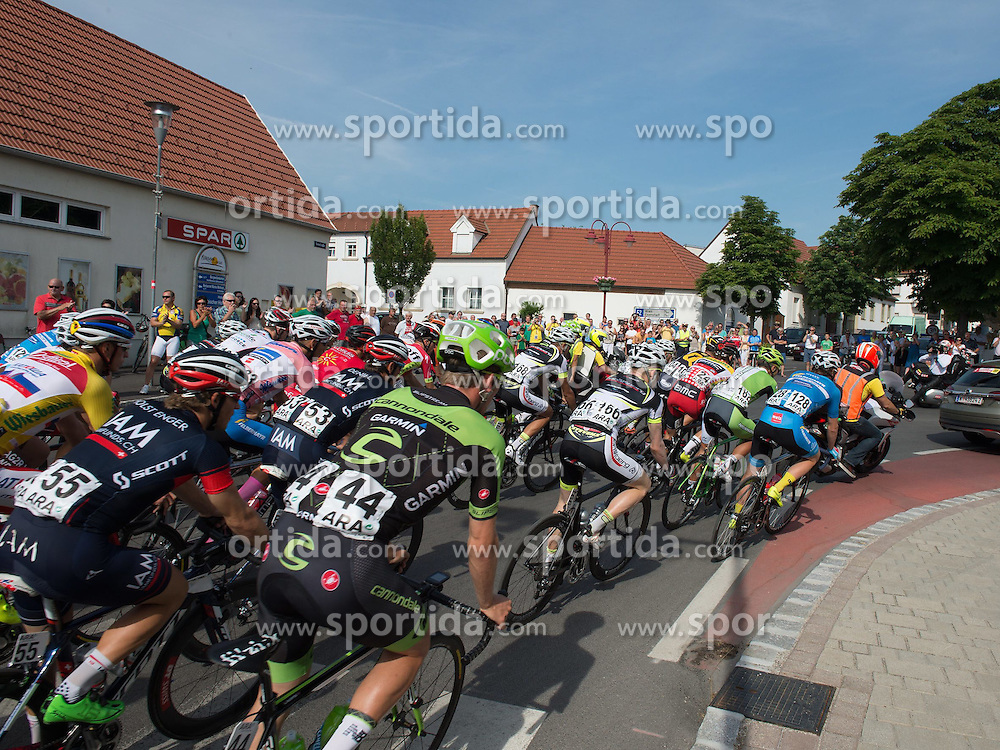 05.07.2015, Scheibbs, AUT, Österreich Radrundfahrt, 1. Etappe, Mörbisch nach Scheibbs, im Bild Hauptfeld // maingroup during the Tour of Austria, 1st Stage, from Mörbisch to Scheibbs, Scheibbs, Austria on 2015/07/05. EXPA Pictures © 2015, PhotoCredit: EXPA/ Reinhard Eisenbauer