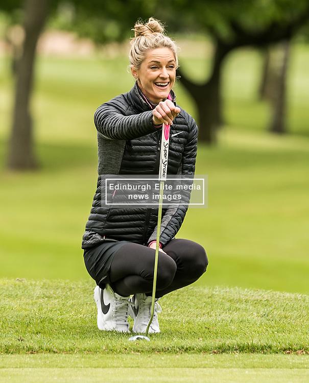 Storm Keating at The ISPS HANDA Mike Tindall Celebrity Golf Classic<br /> <br /> (c) John Baguley   Edinburgh Elite media