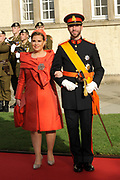 Religious wedding of Grand Duke Guillaume and Princess Stephanie at the Cathedral Notre-Dame in Luxembourg <br />