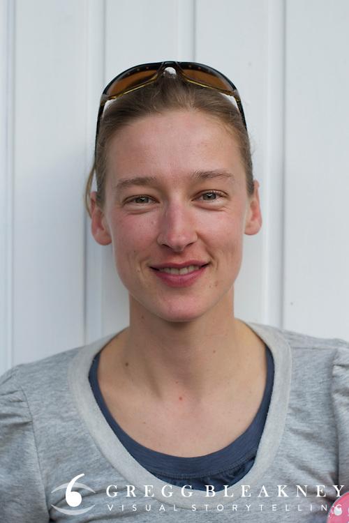 Annie Davis Usher Portrait