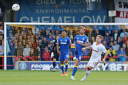 AFC Wimbledon midfielder Tom Beere (16) during the EFL Sky Bet League 1 match between AFC Wimbledon and Gillingham at the Cherry Red Records Stadium, Kingston, England on 1 October 2016. Photo by Stuart Butcher.