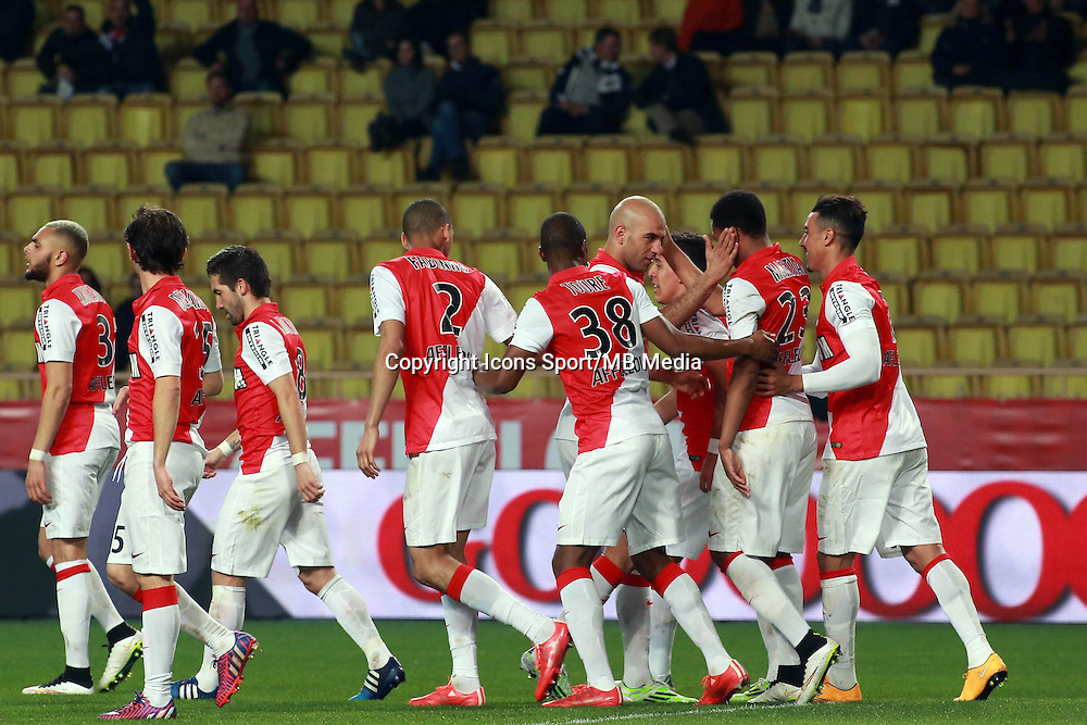 JOIE MONACO / Anthony MARTIAL  - 13.03.2015 -   Monaco / Bastia -  29eme journee de Ligue 1 <br />Photo : Serge Haouzi / Icon Sport