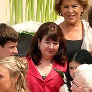 NLD/Groningen/20070609 - Huwelijk Arjen Robben en Bernadien Eillert, Henriette Dijkhuizen..Wedding of the dutch Chelsea soccer player Arjen Robben with his girlfriend Bernadien Eillert along with family and friends
