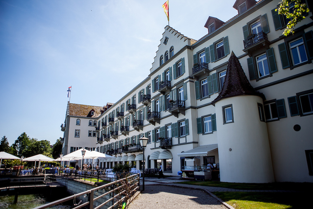 After a few weeks being in Constance the  opponents of Jan Hus succeeded in imprisoning him, on the strength of a rumor that he intended to flee. He was first brought into the residence of a canon and then, on 8 December 1414, into the dungeon of the Dominican monastery. The Dominican monastry is now the Steigenberger Hotel.