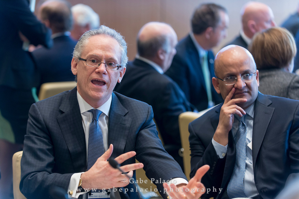 Action group sessions at the Long Term Value Summit in New York on March 10, 2015. <br /> (photo by Gabe Palacio)