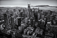 Downtown San Francisco (monochrome)