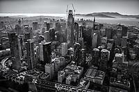Downtown San Francisco (monochrome)
