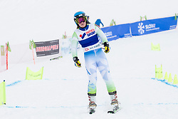 Masa Strakl of Slovenia during FIS World Cup Telemark Krvavec 2018, on February 8, 2018 in RTC Krvavec, Crklje na Gorenjskem, Slovenia. Photo by Urban Urbanc / Sportida