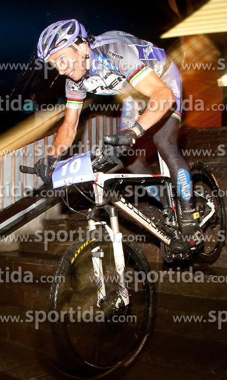 05.08.2010, Geschäftszeile, Kaprun, AUT, Bike Infection 2010, XC Battle, im Bild #10, Bart Brentjens, (NL, TREK Brentjens Mountainbike Racing Team), EXPA Pictures © 2010, PhotoCredit: EXPA/ J. Feichter / SPORTIDA PHOTO AGENCY