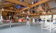 TILBURG - Interieur clubhuis HC Tilburg. . Hoofdklasse hockey competitie Tilburg-SCHC (4-2). COPYRIGHT KOEN SUYK