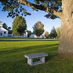 The village green in Guildhall, Vermont.