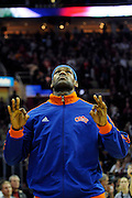 Feb 4, 2010; Cleveland, OH, USA; Cleveland Cavaliers forward LeBron James (23) prior to the game against the Miami Heat at Quicken Loans Arena. Mandatory Credit: Jason Miller-US PRESSWIRE