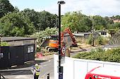 Catford / Prefab demolition 07/07/2014