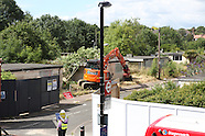 Catford / Prefab demolition 07/07/2014