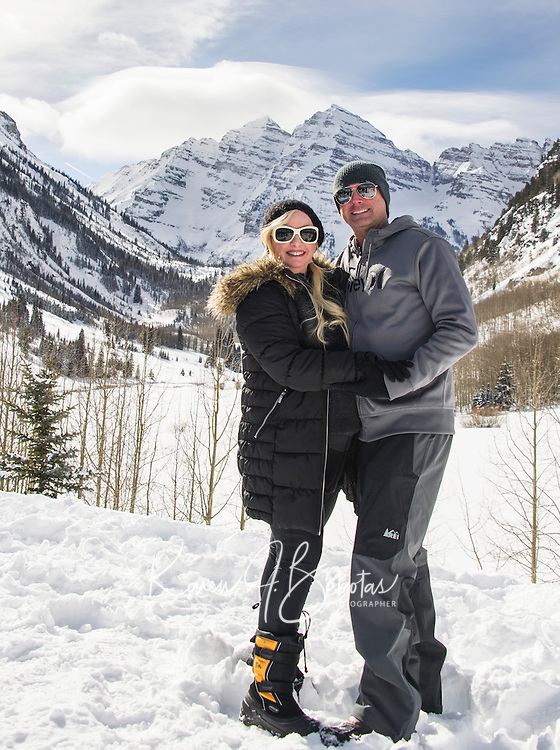 Aspen - Snowmass Colorado.  Ashcroft Touring Center.  T Lazy 7 Snowmobile Tours. ©2017 Karen Bobotas Photographer