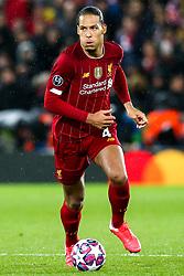Virgil van Dijk of Liverpool - Mandatory by-line: Robbie Stephenson/JMP - 11/03/2020 - FOOTBALL - Anfield - Liverpool, England - Liverpool v Atletico Madrid - UEFA Champions League Round of 16, 2nd Leg