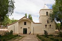 YAVI, IGLESIA DE NUESTRA SEÑORA DEL ROSARIO Y SAN FRANCISCO, PROV. DE JUJUY, ARGENTINA