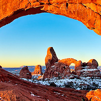 Turret Arch through North Window, Arches NP