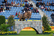 Luciana Diniz - Lady Lindenhof<br /> World Equestrian Festival, CHIO Aachen 2013<br /> © DigiShots