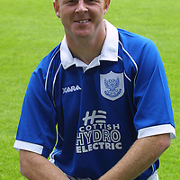 St Johnstone FC photocall season 2001/02<br />Stephen Frail<br /><br /><br />Picture by Graeme Hart.<br />Copyright Perthshire Picture Agency<br />Tel: 01738 623350  Mobile: 07990 594431