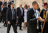 levine Pool of Trump visit to church and western Wall