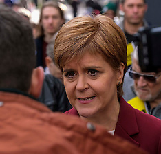 Nicola Sturgeon begins election campaign, Stirling, 30 October 2019