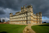 Great Britain - Highclere Castle , home of Downton Abbey