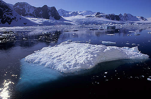 Antarctica, Iceberg in Neumayer Channel. Antarctica Peninsula.
