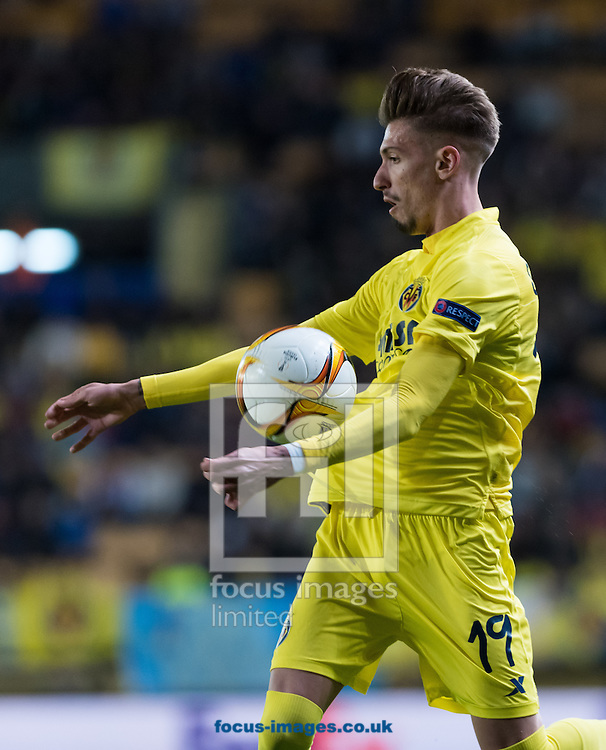 Samu Castillejo of Villarreal CF during the UEFA Europa League quarter final match at Estadio El Madrigal, Villarreal<br /> Picture by Maria Jose Segovia/Focus Images Ltd +34 660052291<br /> 07/04/2016