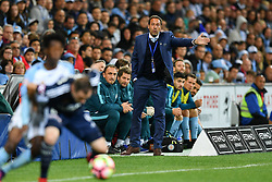 December 17, 2016 - Melbourne, Victoria, Australia - JOHN VAN'T SCHIP coach of Melbourne City directs his players during the round 11 match of the A-League between Melbourne City and Melbourne Victory at AAMI Park, Melbourne, Australia. Victory won 2-1 (Credit Image: © Sydney Low via ZUMA Wire)