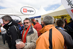VIP tent at Flying Hill Team in 3rd day of 32nd World Cup Competition of FIS World Cup Ski Jumping Final in Planica, Slovenia, on March 21, 2009. (Photo by Vid Ponikvar / Sportida)