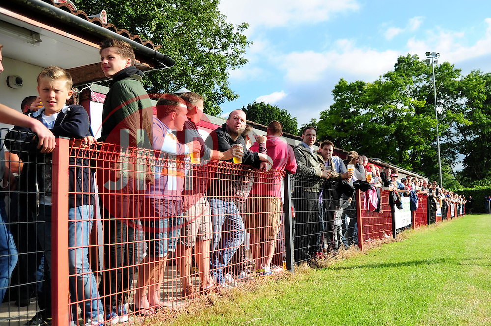 The crowd at Ashton and Backwell United - Photo mandatory by-line: Dougie Allward/JMP - Tel: Mobile: 07966 386802 03/07/2013 - SPORT - FOOTBALL - Bristol -  Ashton and Backwell United V Bristol City - Pre Season Friendly