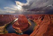 Horseshoe Bend, Colorado River, Glen Canyon National Rec. Area, Arizona,USA