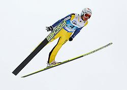 13.02.2013, Vogtland Arena, Kingenthal, GER, FIS Ski Sprung Weltcup, im Bild Simon Ammann, Schweiz // during the FIS Skijumping Worldcup at the Vogtland Arena, Kingenthal, Germany on 2013/02/13. EXPA Pictures © 2013, PhotoCredit: EXPA/ Eibner/ Ingo Jensen..***** ATTENTION - OUT OF GER *****
