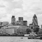 City of London - London, UK - Black & White