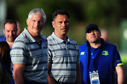 Bath Rugby Head Coach Tabai Matson looks on during the pre-match warm-up - Mandatory byline: Patrick Khachfe/JMP - 07966 386802 - 26/08/2016 - RUGBY UNION - Donnybrook Stadium - Dublin, Republic of Ireland - Leinster Rugby v Bath Rugby - Pre-season friendly.