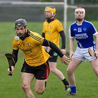 Clonlara's Domhnall O'Donovan keeps his eye on the slíotar