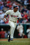 The Cleveland Indians defeated the Chicago White Sox Monday, March 31 at Progressive Field in Cleveland. The Indians defeated the White Sox 10-8.. Catcher Victor Martinez.