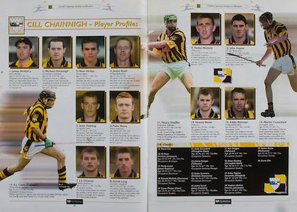 All Ireland Senior Hurling Championship - Final,.14092003AISHCF,.14.09.2003, 09.14.2003, 9th September 2003,.Senior Kilkenny 1-14, Cork 1-11,.Minor Kilkenny 2-16, Galway 2-15,.Kilkenny Player Profiles,