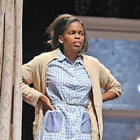 RUTH - Chelsea Williams on stage for Chautauqua Thaeters performance of Raisin in the Sun in the Bratton Theater on the gounds of Chautauqua Institution July 2014 phopt by Mark L. Anderson